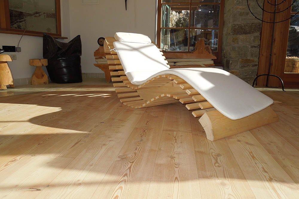 Tradizionali doghe in legno massiccio